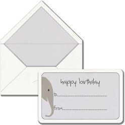 Maritera Safari Fil Happy Birthday Baskılı Tebrik Kartı - Thumbnail