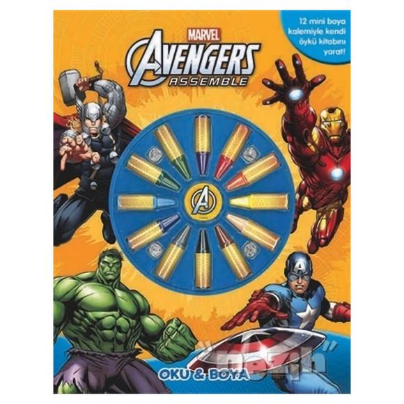 Marvel Avengers Assemble: Oku ve Boya