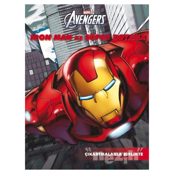 Marvel Avengers: Iron Man ile Süper Boyama