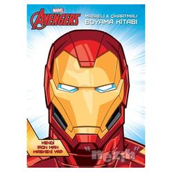 Marvel Avengers Maskeli ve Çıkartmalı Boyama Kitabı - Thumbnail