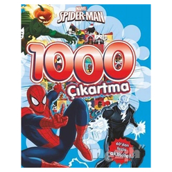 Marvel Spider-Man 1000 Çıkartma - Thumbnail