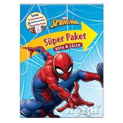 Marvel Spider-Man Süper Paket Boya ve Eğlen - Thumbnail