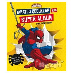 Marvel Ultimate Spider-Man: Yaratıcı Çocuklar İçin Süper Albüm - Thumbnail