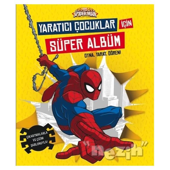 Marvel Ultimate Spider-Man: Yaratıcı Çocuklar İçin Süper Albüm