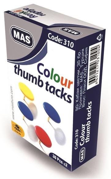 Mas 310 Pvc Kaplı Renkli Raptiye