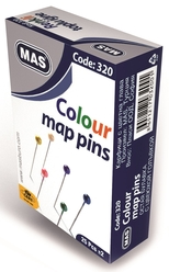 Mas 320 Renkli Başlı Toplu İğne 32 mm - Thumbnail