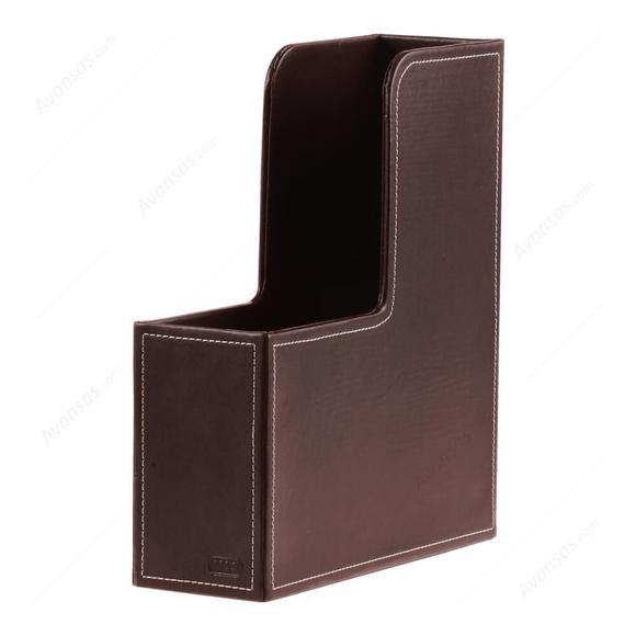 Mas Magazinlik Suni Deri Kahverengi 3848