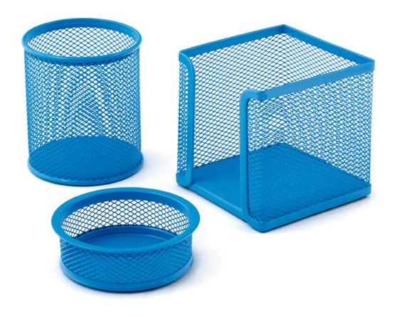 Mas Perfore Metal Üçlü Set Bebe Mavisi 505