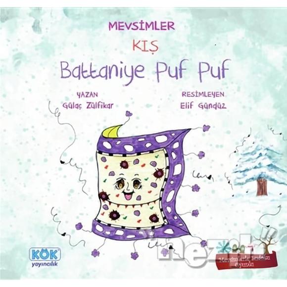 Mevsimler Kış - Battaniye Puf Puf