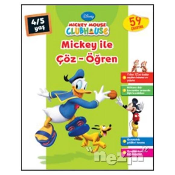 Mickey Mouse Clubhouse - Mickey ile Çöz - Öğren (4-5 Yaş)