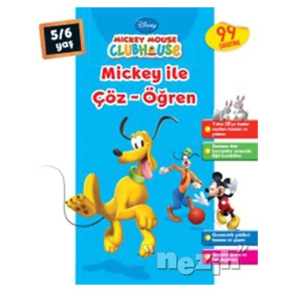Mickey Mouse Clubhouse - Mickey ile Çöz - Öğren (5-6 Yaş)
