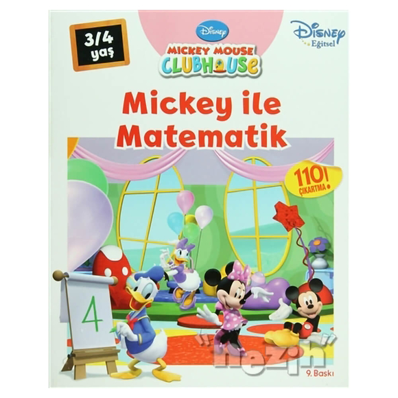 Mickey Mouse Clubhouse - Mickey ile Matematik (3/4Yaş)