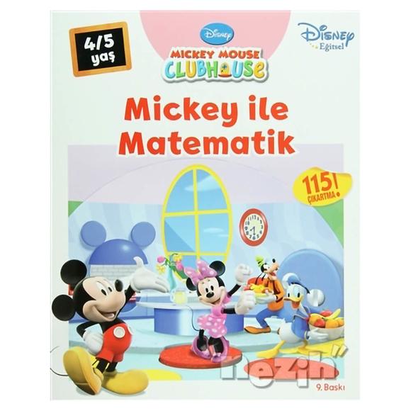 Mickey Mouse Clubhouse - Mickey ile Matematik (4/5 Yaş)