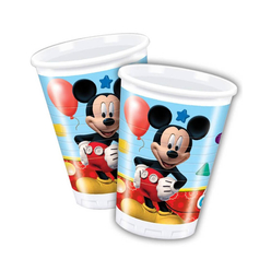Mickey Playful Bardak 8'li - Thumbnail