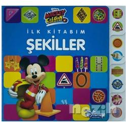 Mickey ve Çılgın Yarışçılar - İlk Kitabım Şekiller - Thumbnail