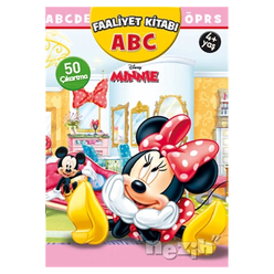 Minnie ABC Faaliyet Kitabı - Thumbnail