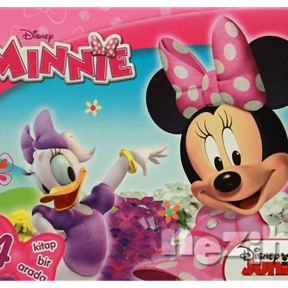 Minnie Kutulu - 4 Kitap Takım