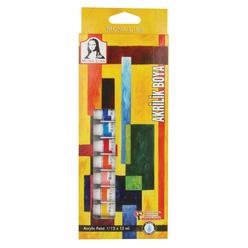 Mona Lisa Akrilik Tüp Boya Seti 12x12 ml - Thumbnail