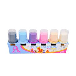 Mona Lisa Oyun Hamuru 6 lı Pastel Renkler - Thumbnail