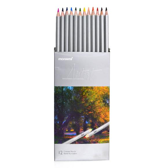 Monami Artist Kuru Boya Kalemi 12 Renk