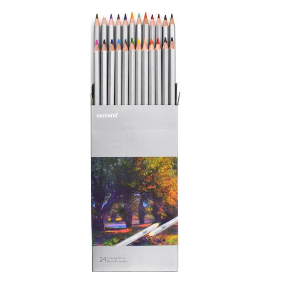 Monami Artist Kuru Boya Kalemi 24 Renk