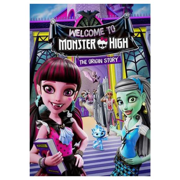 Monster High'a Hoş Geldiniz - DVD