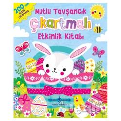Mutlu Tavşancık Çıkartmalı Etkinlik Kitabı - Thumbnail