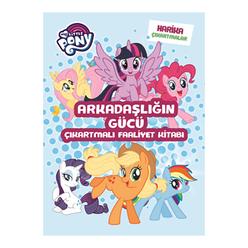 My Little Pony Arkadaşlığın Gücü Çıkartmalı Faaliyet Kitabı - Thumbnail