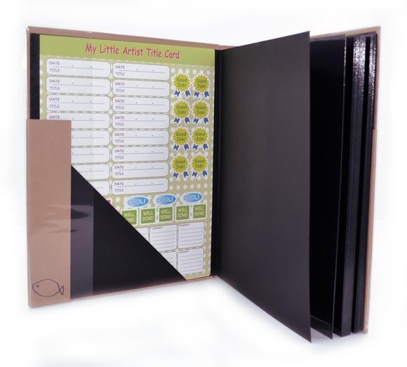 NCL Yapışkanlı Resim Albümü Kraft 40 Sayfa