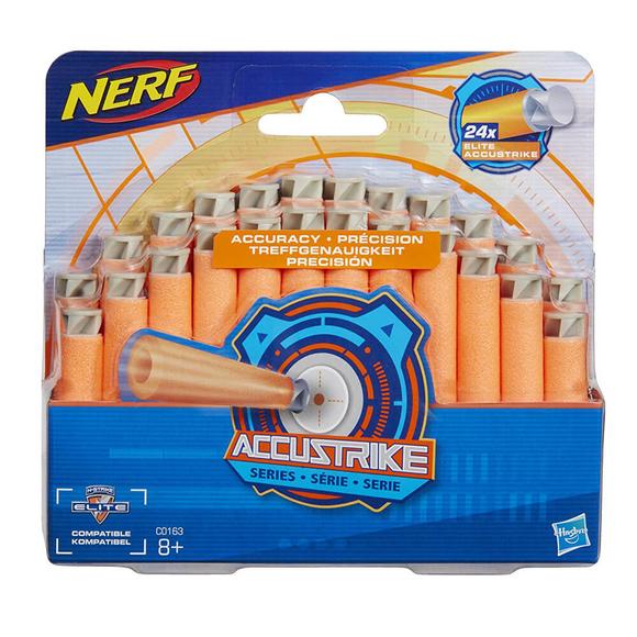 Nerf Accustrike Dart Yedek Paket 24'lü C0163