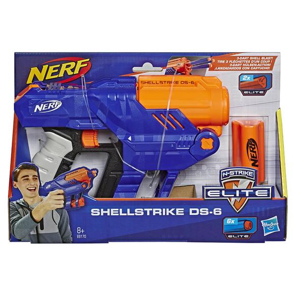 Nerf Elite Shellstrıke Ds-6 E6170