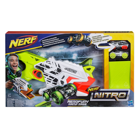 Nerf Nitro Aeofury Ramp Rage E0408