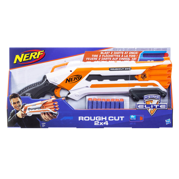 Nerf Rough Cut A1691