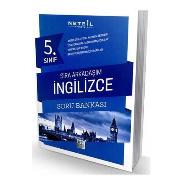 Netbil 5. Sınıf İngilizce Sıra Arkadaşım Soru Bankası