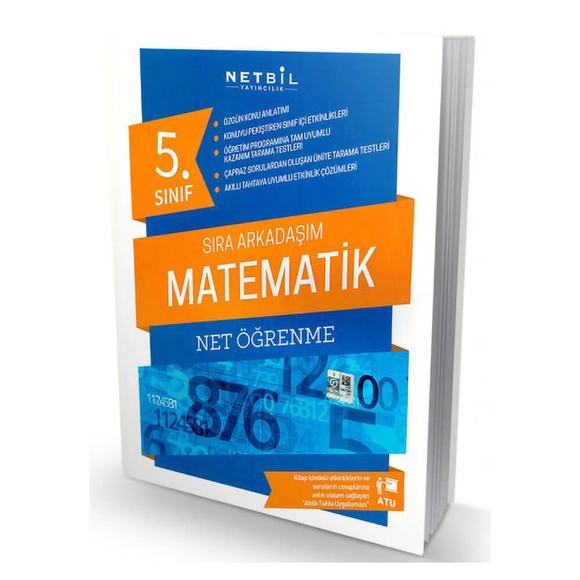 Netbil 5. Sınıf Matematik Sıra Arkadaşım Net Öğrenme