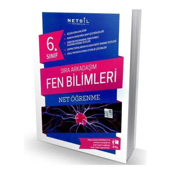 Netbil 6. Sınıf Fen Bilimleri Sıra Arkadaşım Net Öğrenme