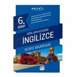 Netbil 6. Sınıf İngilizce Sıra Arkadaşım Soru Bankası - Thumbnail