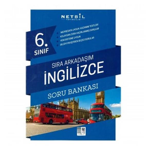 Netbil 6. Sınıf İngilizce Sıra Arkadaşım Soru Bankası