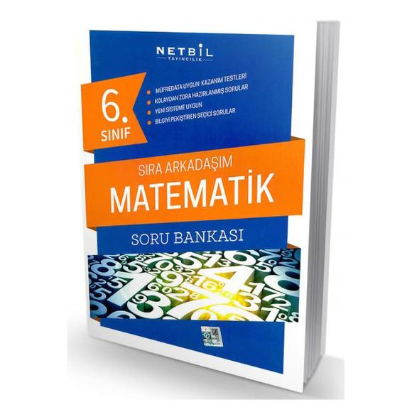 Netbil 6. Sınıf Matematik Sıra Arkadaşım Soru Bankası