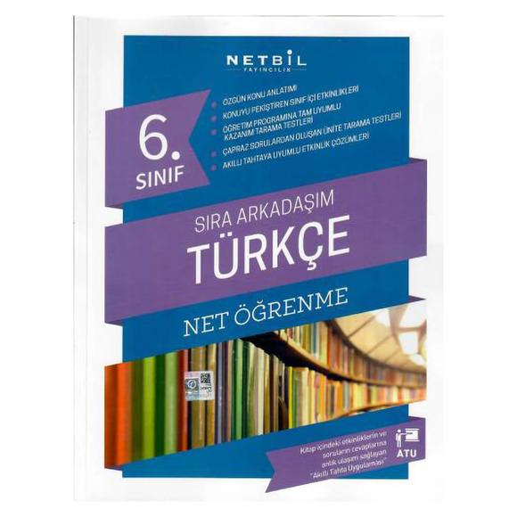 Netbil 6. Sınıf Türkçe Sıra Arkadaşım Net Öğrenme