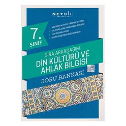 Netbil 7. Sınıf Din Kültürü ve Ahlak Bilgisi Sıra Arkadaşım Soru Bankası - Thumbnail