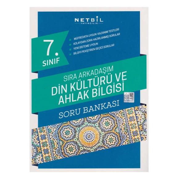 Netbil 7. Sınıf Din Kültürü ve Ahlak Bilgisi Sıra Arkadaşım Soru Bankası