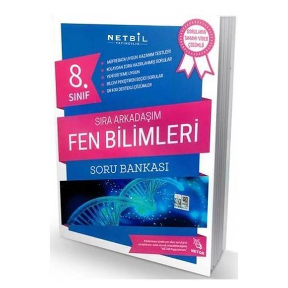 Netbil 8. Sınıf Fen Bilimleri Sıra Arkadaşım Soru Bankası