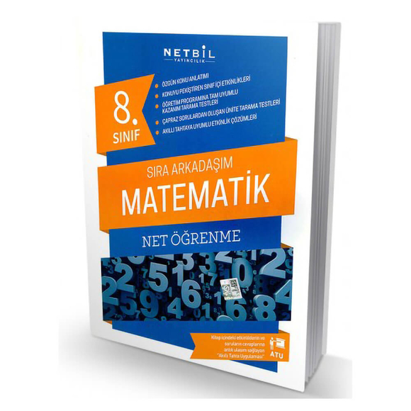 Netbil 8. Sınıf Matematik Sıra Arkadaşım Net Öğrenme