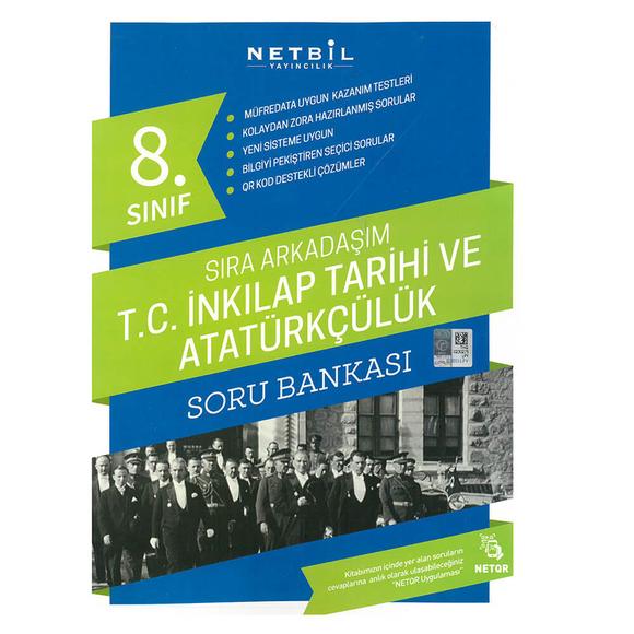 Netbil 8. Sınıf Tc Inkılap Tarihi ve Atatürkçülük Sıra Arkadaşım Soru Bankası