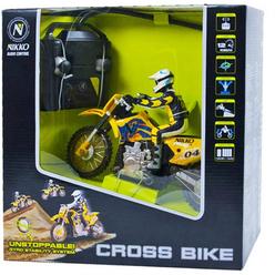 Nikko Cross Bike Uzaktan Kumandalı Motorsiklet 1:24 Ölçek 900012A2 - Thumbnail