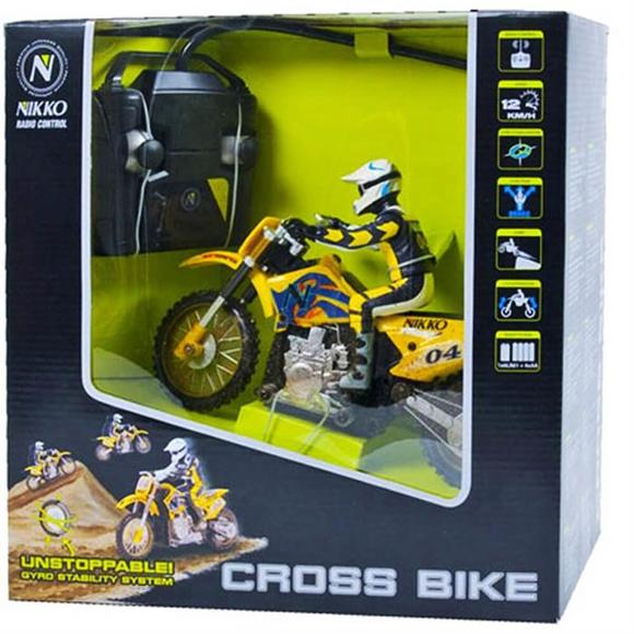 Nikko Cross Bike Uzaktan Kumandalı Motorsiklet 1:24 Ölçek 900012A2