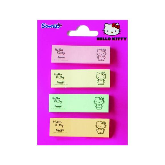 Notix Ayraç Hello Kitty Pastel Renkler 25 Yaprak 4x15x50 mm