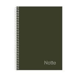 Notte Pastel Spiralli Sert Kapak Çizgili Defter A4 120 Yaprak 50-106 - Thumbnail