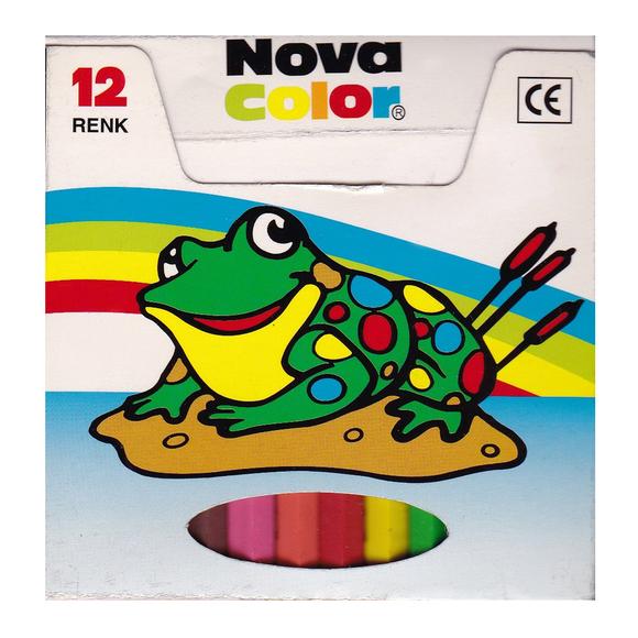 Nova Color Pastel Boya 12 Renk NC-1112